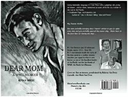 WWII memoir cover front and back