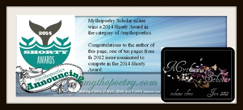 2014 Shorty Awards in #mythopoetics
